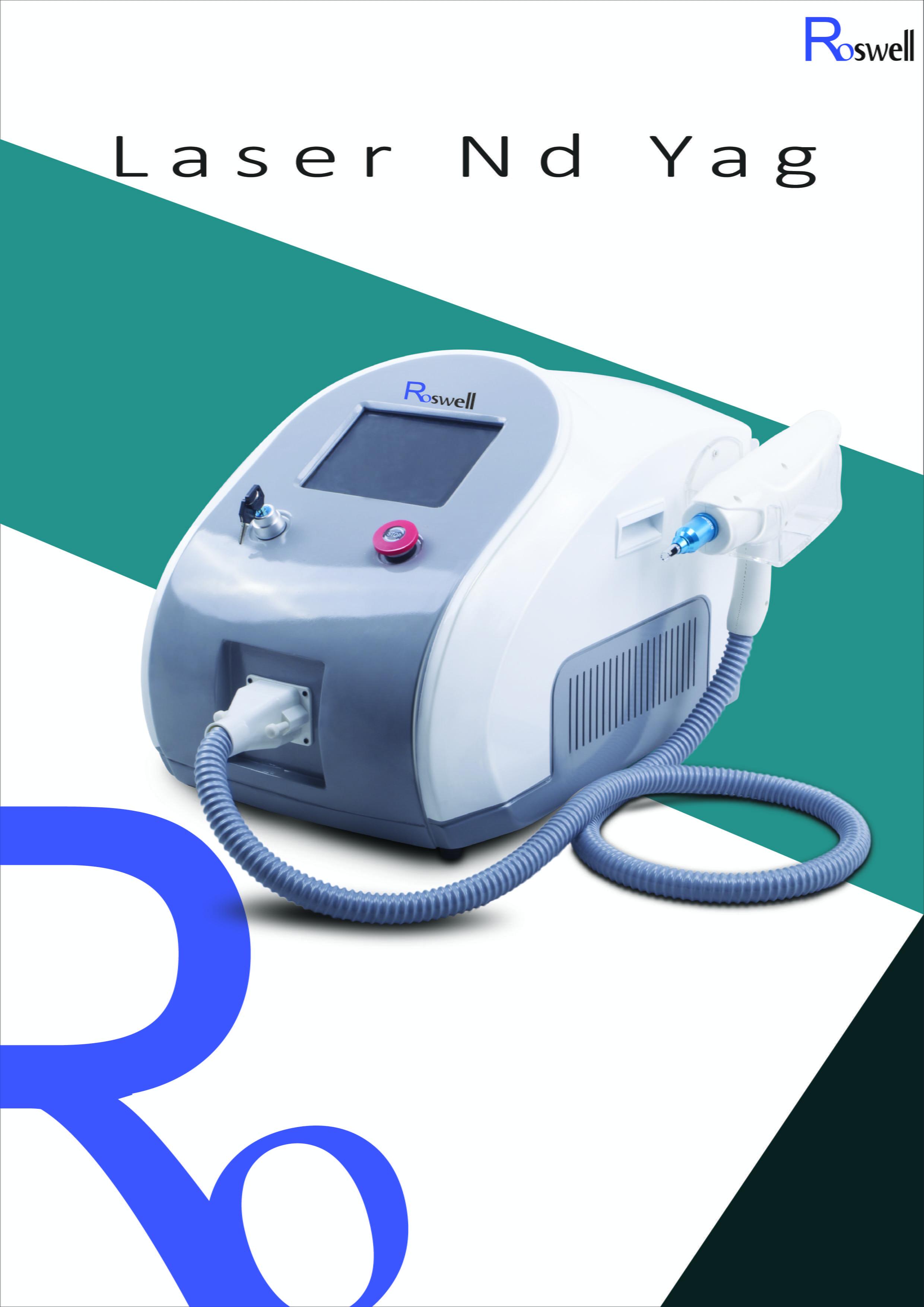 máy laser xóa xăm nd yag roswell