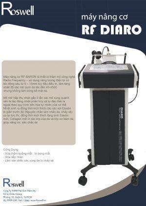 máy nâng cơ RF DIARO